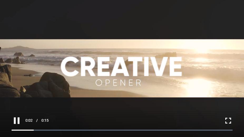 创意现代开瓶器 Premiere Pro 模板免费下载